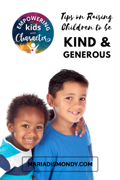 'Tis the Season! Tips on Raising Children to be Kind and Generous