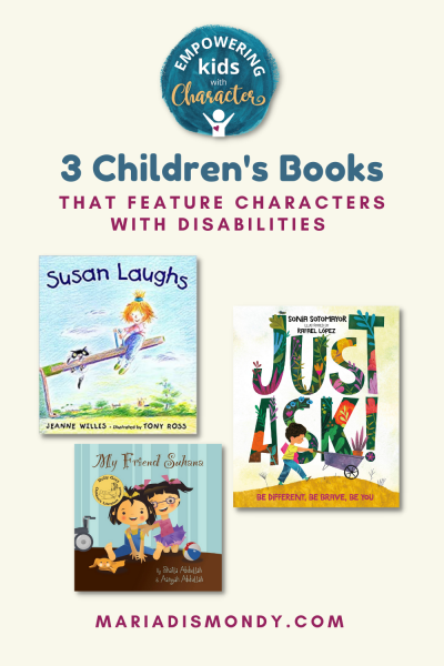 3 Children's Books that Feature Characters with Disabilities