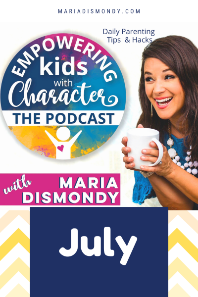 EKWC THE PODCAST-DAILY PARENTING TIPS & HACK- JULy