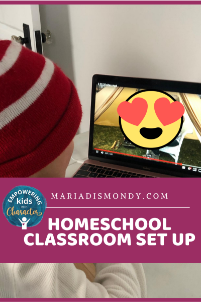 Homeschool Classroom Set-Up-Remote Learning