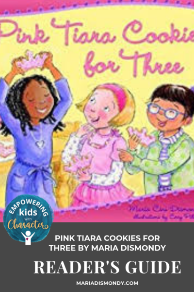 Pink Tiara Cookies for Three Reader's Guide
