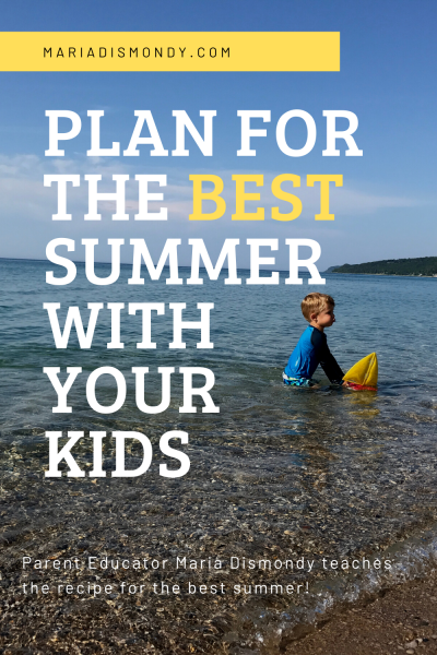 Summer Planning for Kids
