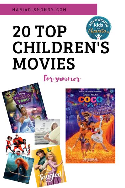 Summer Movies for Children