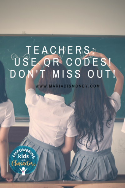 Teachers: Use QR Codes! Don't miss out!