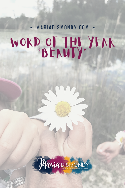 Word of the Year: Beauty